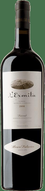 4 245,95 € Envoi gratuit   Vin rouge Álvaro Palacios L'Ermita 2006 D.O.Ca. Priorat Catalogne Espagne Grenache, Cabernet Sauvignon Bouteille Jéroboam-Doble Magnum 3 L