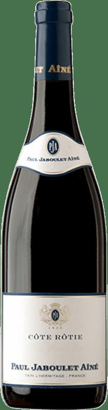 73,95 € Free Shipping | Red wine Jaboulet Aîné Les Pierrelles A.O.C. Côte-Rôtie France Syrah Bottle 75 cl