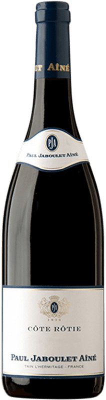73,95 € Envío gratis | Vino tinto Jaboulet Aîné Les Pierrelles A.O.C. Côte-Rôtie Francia Syrah Botella 75 cl