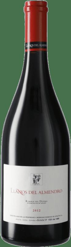 131,95 € Envío gratis | Vino tinto Dominio de Atauta Llanos del Almendro D.O. Ribera del Duero Castilla y León España Botella 75 cl