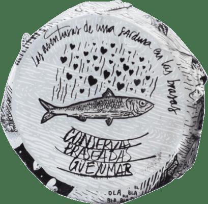 9,95 € Kostenloser Versand | Conservas de Pescado Güeyu Mar Lomos de Sardina Fürstentum Asturien Spanien