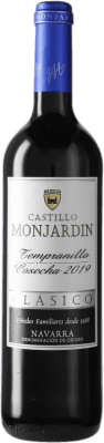 11,95 € Free Shipping | Red wine Castillo de Monjardín D.O. Navarra Navarre Spain Tempranillo Bottle 75 cl