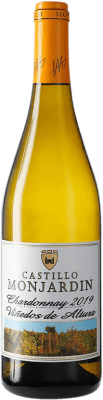 12,95 € Free Shipping | White wine Castillo de Monjardín D.O. Navarra Navarre Spain Chardonnay Bottle 75 cl
