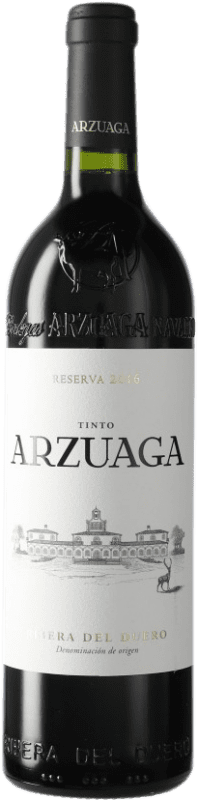 42,95 € Free Shipping | Red wine Arzuaga Reserva D.O. Ribera del Duero Castilla y León Spain Bottle 75 cl