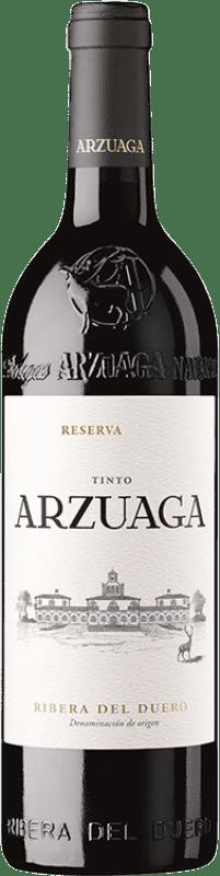36,95 € Envío gratis | Vino tinto Arzuaga Reserva D.O. Ribera del Duero Castilla y León España Botella 75 cl