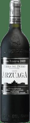 89,95 € Kostenloser Versand | Rotwein Arzuaga Gran Reserva 2009 D.O. Ribera del Duero Kastilien und León Spanien Tempranillo, Merlot, Cabernet Sauvignon Flasche 75 cl