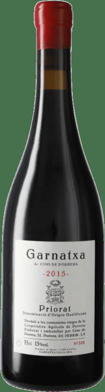 53,95 € Envío gratis | Vino tinto Cims de Porrera D.O.Ca. Priorat Cataluña España Garnacha Botella 75 cl