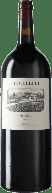 49,95 € Envío gratis | Vino tinto Ntra. Sra de Remelluri Reserva D.O.Ca. Rioja España Tempranillo, Garnacha, Graciano, Mazuelo, Viura Botella Mágnum 1,5 L