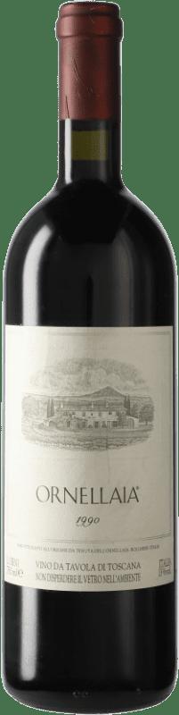 314,95 € Envoi gratuit | Vin rouge Ornellaia 1990 D.O.C. Bolgheri Italie Merlot, Cabernet Sauvignon, Cabernet Franc, Petit Verdot Bouteille 75 cl