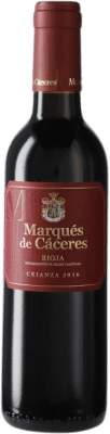 6,95 € Free Shipping | Red wine Marqués de Cáceres Crianza D.O.Ca. Rioja Spain Half Bottle 37 cl