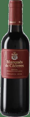 6,95 € Kostenloser Versand   Rotwein Marqués de Cáceres Crianza D.O.Ca. Rioja Spanien Halbe Flasche 37 cl
