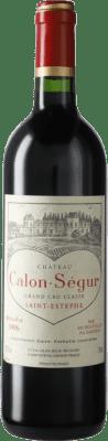 186,95 € Kostenloser Versand | Rotwein Château Calon Ségur 1996 A.O.C. Bordeaux Bordeaux Frankreich Merlot, Cabernet Sauvignon Flasche 75 cl