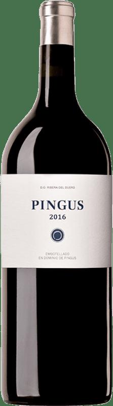 12 637,95 € Envío gratis | Vino tinto Dominio de Pingus D.O. Ribera del Duero Castilla y León España Tempranillo Botella Imperial-Mathusalem 6 L