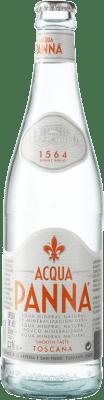 1,95 € Envío gratis | Agua Acqua Panna Italia Botella Medium 50 cl