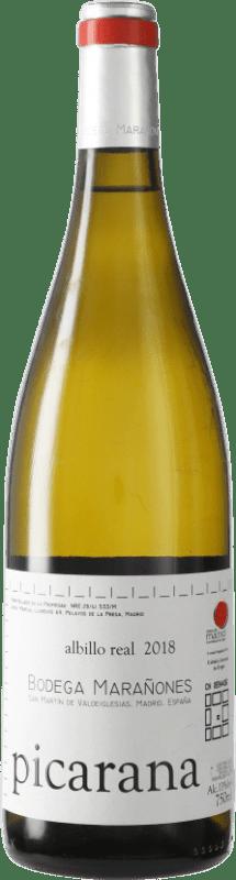 13,95 € Free Shipping | White wine Marañones D.O. Vinos de Madrid Madrid's community Spain Picardan Bottle 75 cl