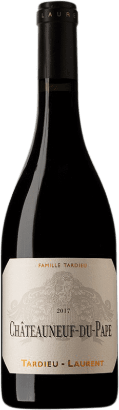 59,95 € Envío gratis | Vino tinto Tardieu-Laurent A.O.C. Châteauneuf-du-Pape Francia Syrah, Garnacha, Mourvèdre Botella 75 cl