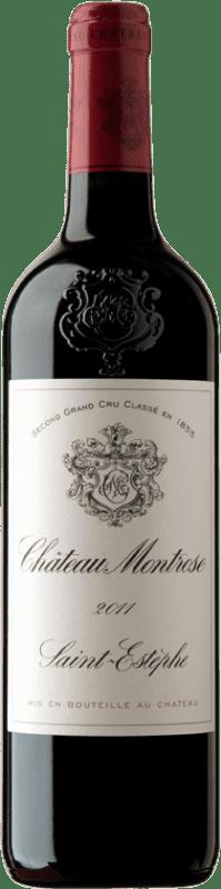 122,95 € Free Shipping | Red wine Château Montrose A.O.C. Saint-Estèphe Bordeaux France Merlot, Cabernet Sauvignon, Cabernet Franc, Petit Verdot Bottle 75 cl