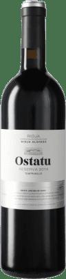 16,95 € Kostenloser Versand   Rotwein Ostatu Reserva D.O.Ca. Rioja Spanien Tempranillo Flasche 75 cl