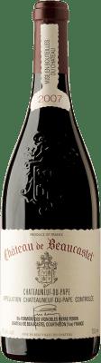 145,95 € Free Shipping | Red wine Château Beaucastel 2007 A.O.C. Châteauneuf-du-Pape France Syrah, Grenache, Mourvèdre Bottle 75 cl