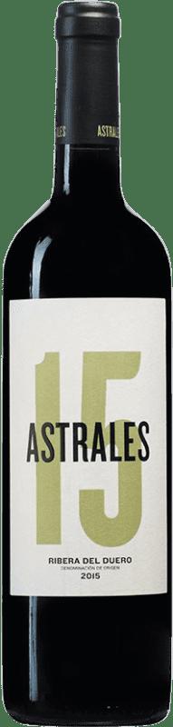 24,95 € Envoi gratuit | Vin rouge Astrales D.O. Ribera del Duero Castille et Leon Espagne Tempranillo Bouteille 75 cl