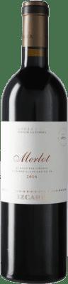 26,95 € Free Shipping | Red wine Vizcarra I.G.P. Vino de la Tierra de Castilla y León Castilla y León Spain Merlot Bottle 75 cl