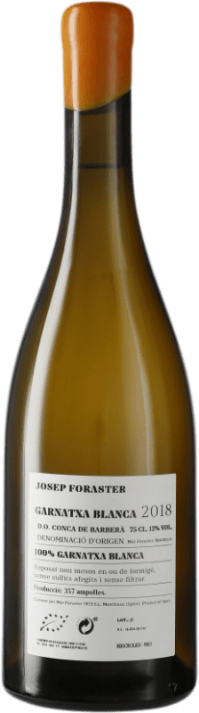 15,95 € Free Shipping | White wine Josep Foraster D.O. Conca de Barberà Catalonia Spain Grenache White Bottle 75 cl