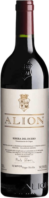 193,95 € Free Shipping | Red wine Alión D.O. Ribera del Duero Castilla y León Spain Tempranillo Magnum Bottle 1,5 L