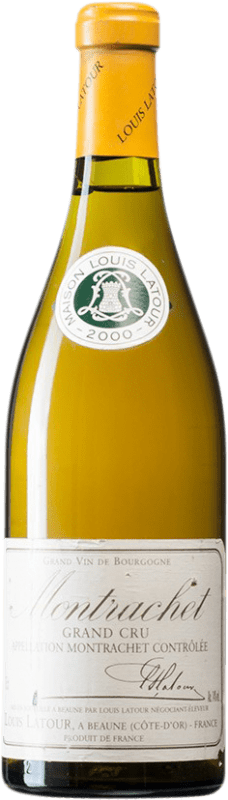 392,95 € Free Shipping | White wine Louis Latour 2000 A.O.C. Montrachet Burgundy France Chardonnay Bottle 75 cl