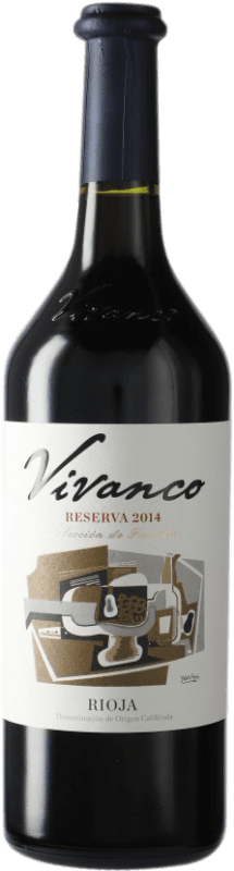 14,95 € Envoi gratuit   Vin rouge Vivanco Reserva D.O.Ca. Rioja Espagne Bouteille 75 cl