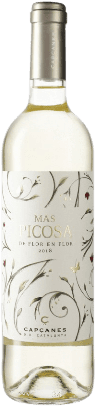 6,95 € Envío gratis | Vino blanco Capçanes Mas Picosa Blanc Ecològic D.O. Catalunya Cataluña España Botella 75 cl