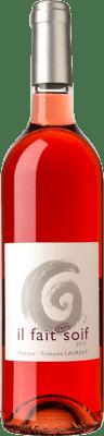 16,95 € Free Shipping | Rosé wine Domaine Gramenon Maxime-François Laurent Il Fait Très Soif A.O.C. Côtes du Rhône France Syrah, Grenache, Cinsault Bottle 75 cl
