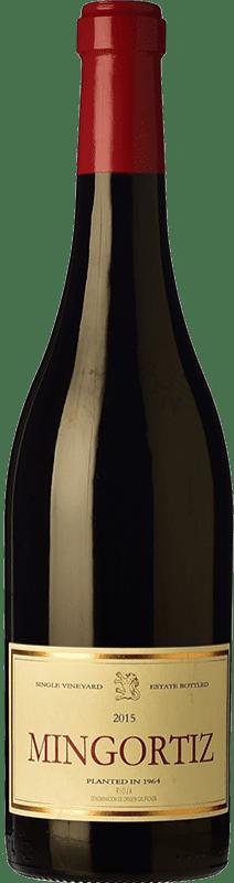 37,95 € Envío gratis | Vino tinto Allende Mingortiz D.O.Ca. Rioja España Tempranillo Botella 75 cl