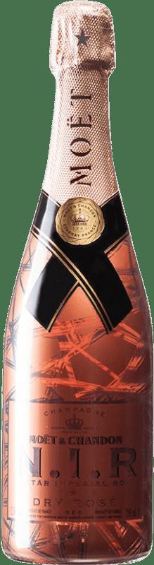 67,95 € Free Shipping | Rosé sparkling Moët & Chandon Nectar Impérial Rosé A.O.C. Champagne Champagne France Pinot Black, Chardonnay, Pinot Meunier Bottle 75 cl