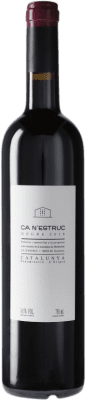 9,95 € Free Shipping | Red wine Ca N'Estruc Negre D.O. Catalunya Catalonia Spain Tempranillo, Syrah, Grenache Bottle 75 cl
