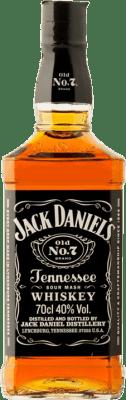 21,95 € Envío gratis | Bourbon Jack Daniel's Old Nº7 Tennessee Estados Unidos Botella 70 cl