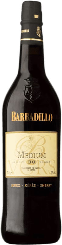 105,95 € Free Shipping | Fortified wine Barbadillo Oloroso Medium V.O.R.S. Very Old Rare Sherry D.O. Jerez-Xérès-Sherry Andalusia Spain Palomino Fino, Pedro Ximénez Bottle 75 cl