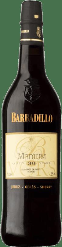 105,95 € Envío gratis   Vino generoso Barbadillo Oloroso Medium V.O.R.S. Very Old Rare Sherry D.O. Jerez-Xérès-Sherry Andalucía España Palomino Fino, Pedro Ximénez Botella 75 cl
