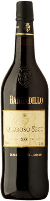 103,95 € Free Shipping | Fortified wine Barbadillo Oloroso V.O.R.S. Very Old Rare Sherry Dry D.O. Jerez-Xérès-Sherry Andalusia Spain Palomino Fino Bottle 75 cl