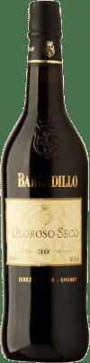 102,95 € Envío gratis   Vino generoso Barbadillo Oloroso V.O.R.S. Very Old Rare Sherry Seco D.O. Jerez-Xérès-Sherry Andalucía España Palomino Fino Botella 75 cl