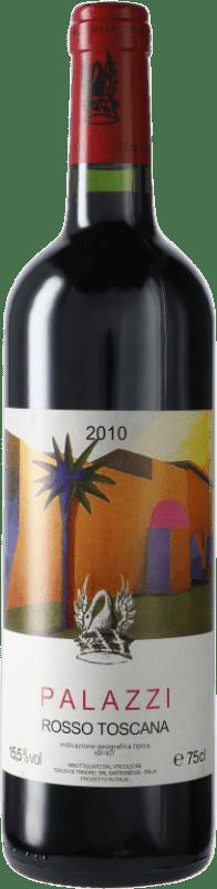 166,95 € Free Shipping | Red wine Tenuta di Trinoro Palazzi 2010 I.G.T. Toscana Italy Merlot Bottle 75 cl