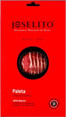 13,95 € Envío gratis | Jamones Joselito Paleta 100% Natural Gran Reserva España