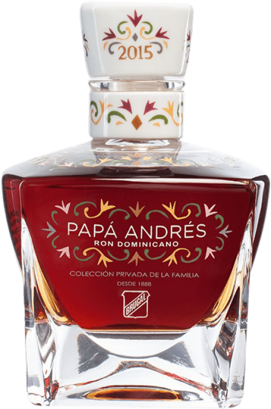 2 182,95 € Free Shipping | Rum Brugal Papa Andrés Dominican Republic Bottle 70 cl