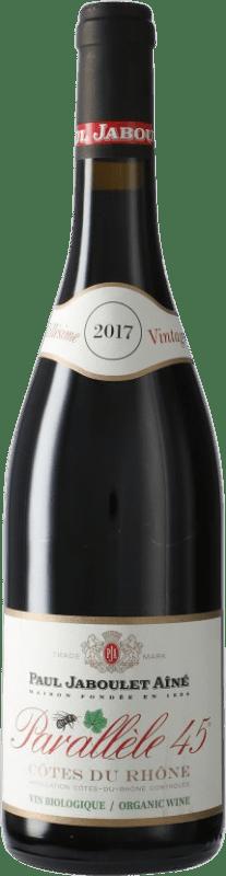 8,95 € Free Shipping | Red wine Jaboulet Aîné Parallèle 45 A.O.C. Côtes du Rhône France Syrah, Grenache Bottle 75 cl