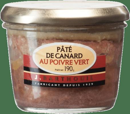 12,95 € Free Shipping | Foie y Patés J. Barthouil Pâté au Poivre Vert France