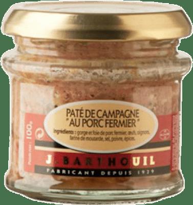 9,95 € Free Shipping | Foie y Patés J. Barthouil Paté de Campagne au Porc Fermier France