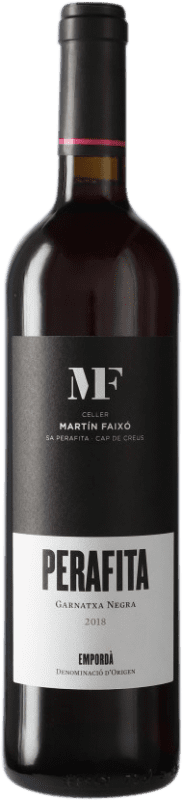 13,95 € Free Shipping | Red wine Martín Faixó Perafita D.O. Empordà Catalonia Spain Grenache Bottle 75 cl