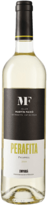 17,95 € Free Shipping | White wine Martín Faixó Perafita D.O. Empordà Catalonia Spain Picapoll Bottle 75 cl