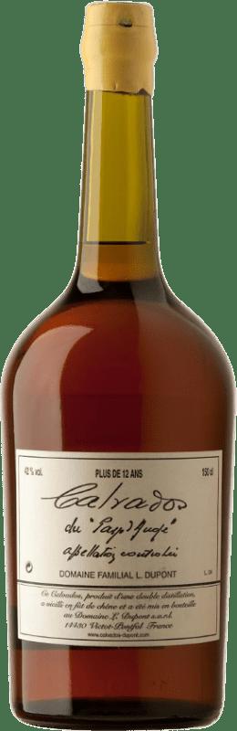 152,95 € Envío gratis | Calvados Domaine Dupont Plus 12 Años I.G.P. Calvados Pays d'Auge Francia Botella Mágnum 1,5 L