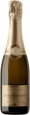 24,95 € Free Shipping | White sparkling Louis Roederer Premier Brut A.O.C. Champagne Champagne France Pinot Black, Chardonnay, Pinot Meunier Half Bottle 37 cl