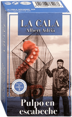19,95 € Free Shipping | Conservas de Marisco La Cala Pulpo en Escabeche Spain